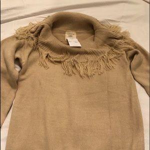 Fantastic Fawn beautiful cowl neck sweater